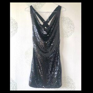 Paper Sun Sequin Dress